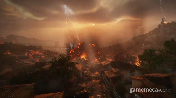 인간과 기계의 대결이 펼쳐지는 포스트 아포칼립스 세계관을 다룬다 (사진출처: 게임 공식 영상 갈무리)