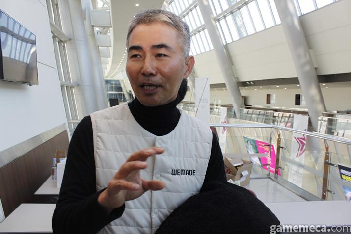 위메이드 장현국 대표 (사진: 게임메카 촬영)