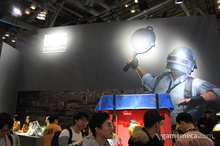 이상 인싸가 되고 싶은 기자의 인싸 부스 탐방기였다 (사진: 게임메카 촬영)