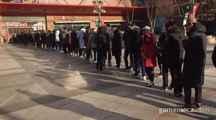 지난 1월 일어났던 PS4 15만원 할인 대란 (사진: 게임메카 촬영)