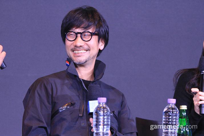 코지마 히데오가 드디어 한국을 찾았다 (사진: 게임메카 촬영)