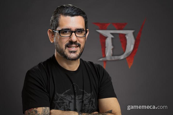 디아블로 4 게임 디렉터 루이스 바리가 (사진출처: 블리자드 제공)