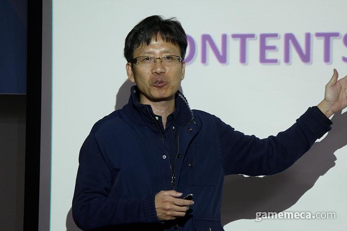 동양대학교 김정태 교수 (사진: 게임메카 촬영)