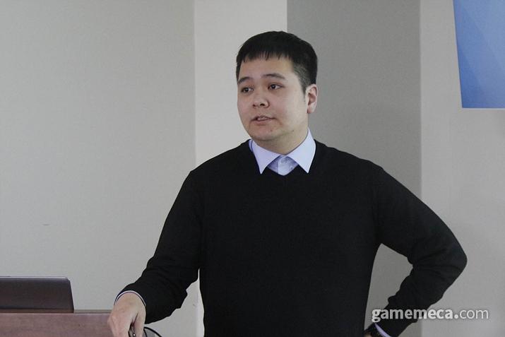 중앙대학교 강태구 박사 (사진: 게임메카 촬영)