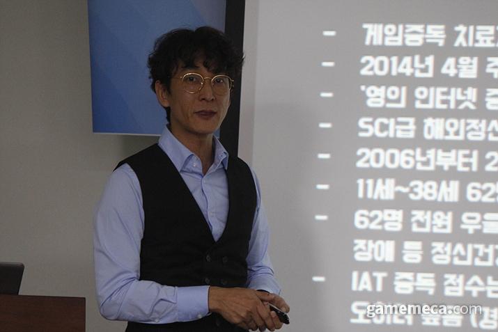 한국게임개발자협회 전석환 실장 (사진: 게임메카 촬영)