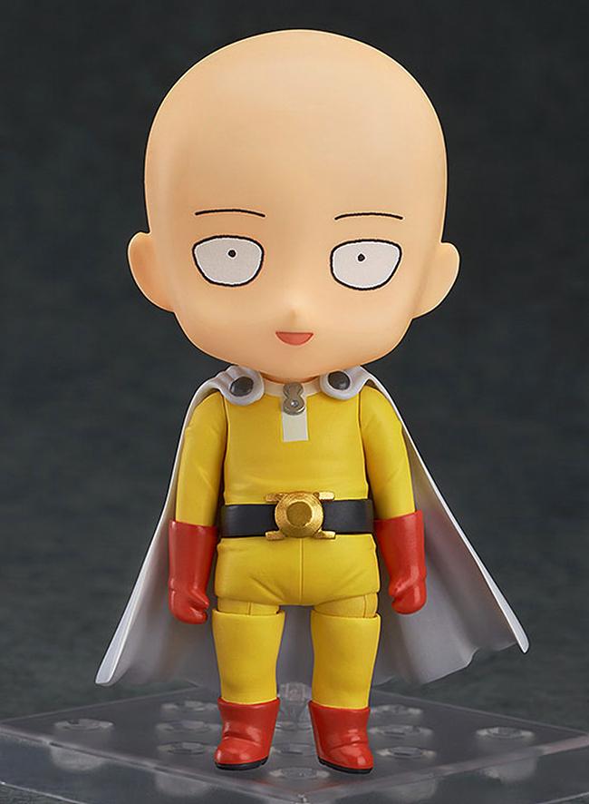 대머리에 멍한 표정의 사이타마. 흔히 보던 멋지고 화려한 영웅들에 비해선 너무 평범한 아저씨다 (사진출처: 아미아미 홈페이지)