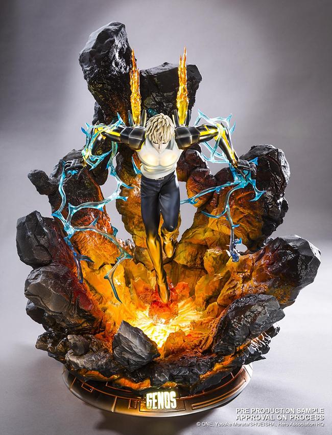 LED효과로 강력한 제노스의 힘을 더욱 분위기있게 부각시킬 수 있다 (사진출처: Tsume art 홈페이지)