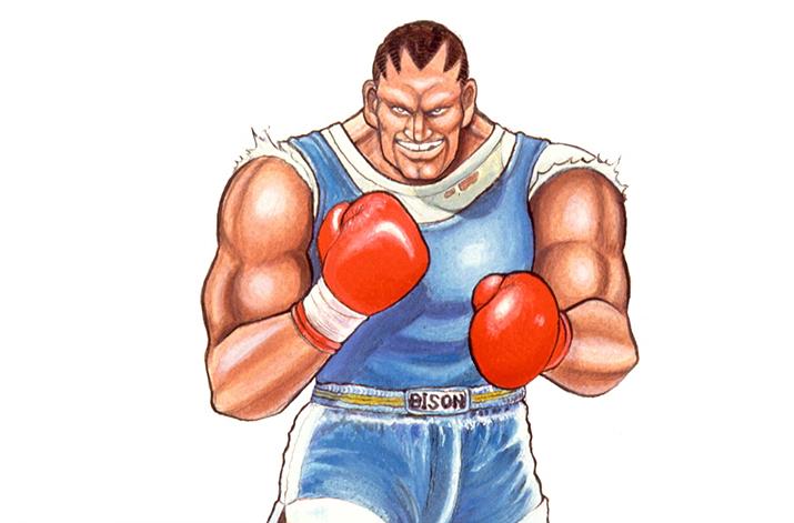 스파 2 시절만 해도 타고난 근육만으로 적을 상대했던 바이슨은... (사진출처: SFII 위키)