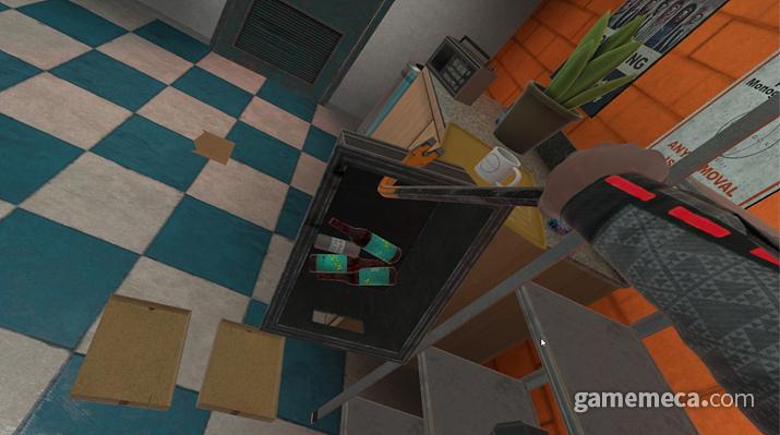 VR하면 자유롭게 만지고 던지며 노는 자신의 모습을 상상하곤 한다 (사진: 게임메카 촬영)