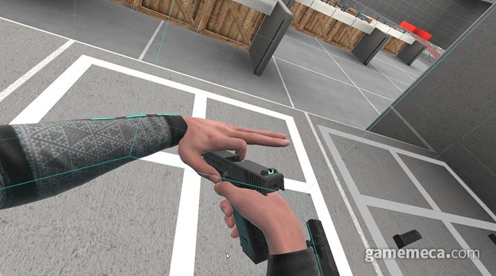 VR 고인물에겐 이런 조작은 껌이다 (사진: 게임메카 촬영)
