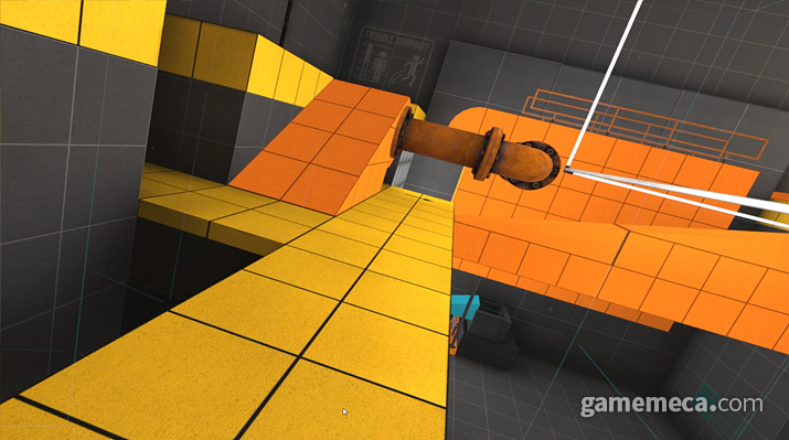 출발 드림팀을 연상케하는 장애물들 (사진: 게임메카 촬영)