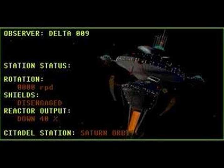 게임의 무대가 되는 위성정거장 시타델의 모습 (사진출처: Play Archive)