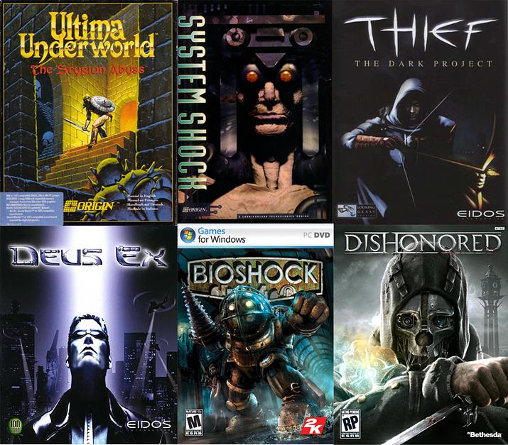 역대 이머시브 심 게임, 시스템 쇼크는 그 중에서도 앞선 작품 중 하나다 (사진출처: Medium)