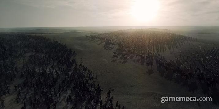 이렇게 많은 병력이 부대끼고 전쟁을 벌이지만 (사진: 게임메카 촬영)