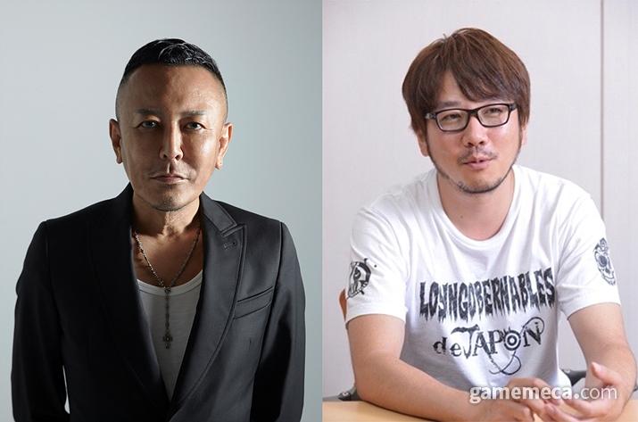나고시 총감독과 사카모토 프로듀서 (사진제공: 세가퍼블리싱코리아)