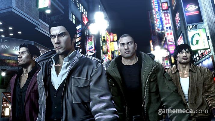 사실 이 게임은 철저히 일본 성인 남성 지향적이다 (사진출처:세가 공식 홈페이지)