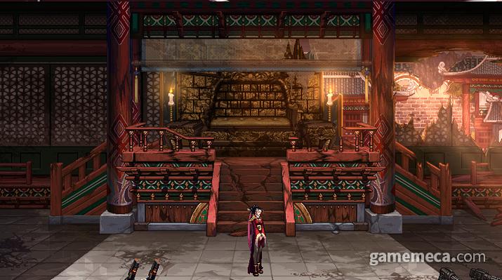 새로운 지역 '겐트 황궁' 추가 (사진출처: 게임 공식 웹페이지)