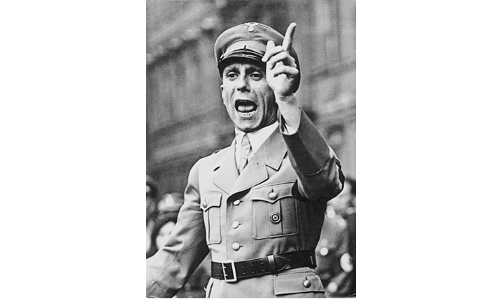 파울 요제프 괴벨스, 나치의 유명한 대중 선동가 (사진출처: 위키백과)
