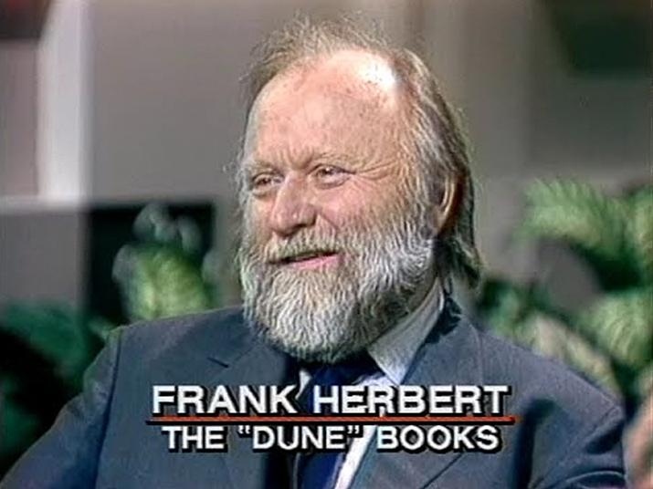 지금은 고인이 된 작가 프랭크 허버트 (사진출처: NBC)