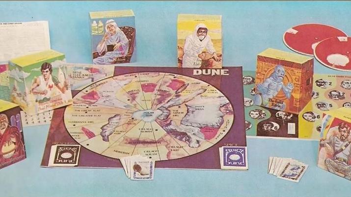 1979년 발매된 보드게임 듄 (사진출처: Den of Geek)
