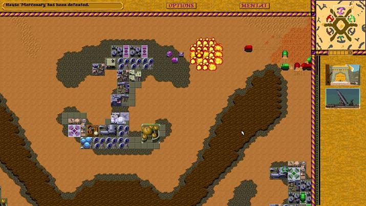 듄? 사막에서 전쟁하는 게임인 건 아는데… (사진출처: Retro Games)