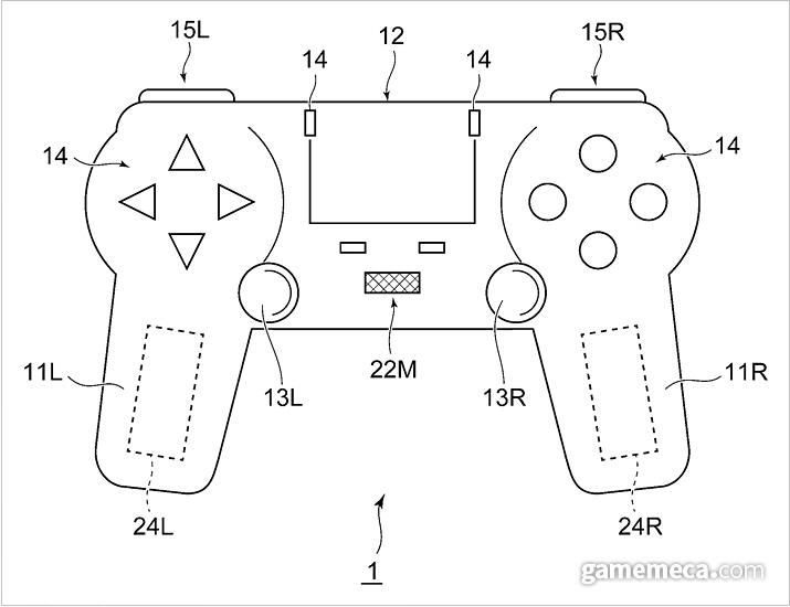 지난 16일에 공개된 소니 컨트롤러 특허 (사진출처: 세계지식재산권기구 공식 홈페이지)