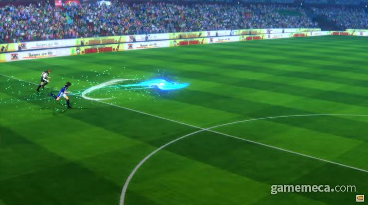 각종 필살 슛이 난무한다 (사진출처: 게임 공식 영상 갈무리)