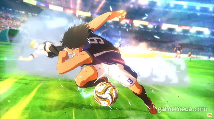강력한 숄더 태클 (사진출처: 게임 공식 영상 갈무리)