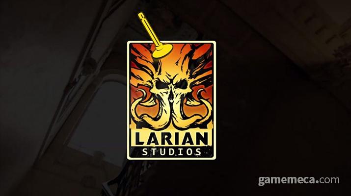 발더스 게이트 3 개발을 맞아 바뀐 라리안 스튜디오 로고 (사진출처: 라리안 스튜디오)