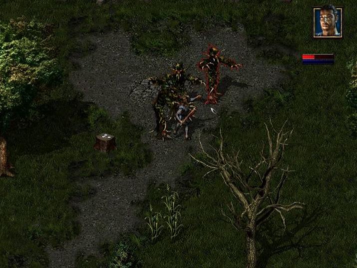 '더 레이디, 더 메이지, 더 나이트'의 테크 데모 스크린샷 (사진출처: RPG Codex)