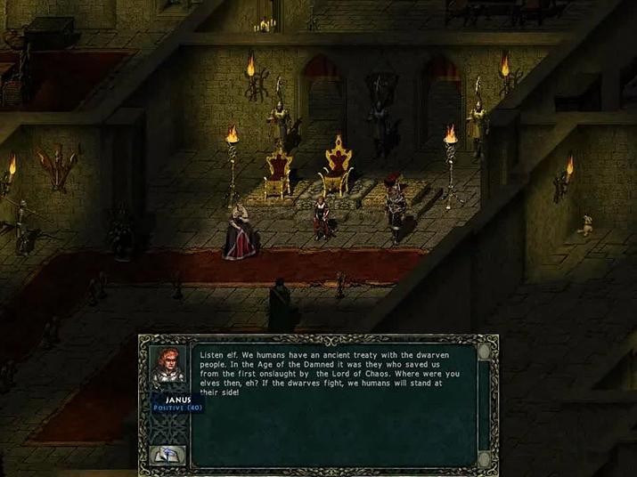 인간으로 변장한 거짓의 악마 '야누스' (사진출처: RPG Codex)