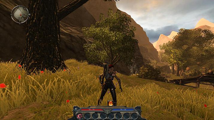 전작과 너무도 다른 화면 구성 (사진출처: RPG Codex)