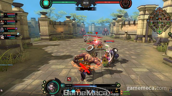 워크래프트 2, 삼국무쌍에 이어 이번에는 사이퍼즈를 연상시킨 에이지 오브 스톰 (사진제공: 네오위즈)