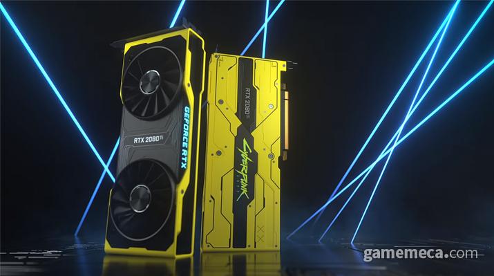 RTX 2080 Ti 사이버펑크 2077 에디션 공개 (사진출처: 제품 공식 영상 갈무리)
