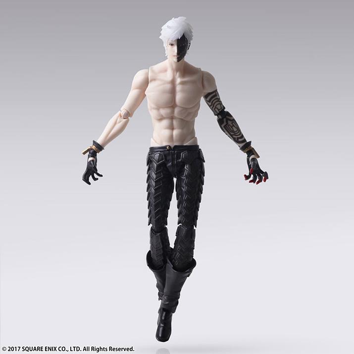 이브는 엄청난 근육을 자랑한다. 기계생명체인데 왜 근육이 있는거야... (사진출처: 아미아미 홈페이지)
