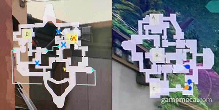 현재 공개된 두 가지 맵, 5 대 5 치고는 상당히 넓고 복잡한 편이다 (사진: 게임메카 촬영)