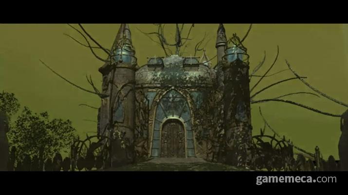 생명의 나무가 위치한 엘프들의 성스러운 도시 설다네셀라 (사진출처: 게임 내 영상 갈무리)