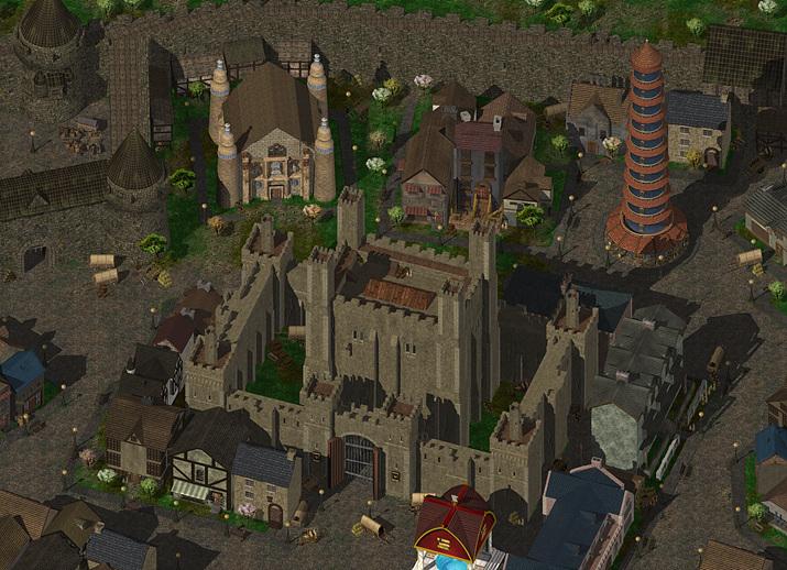 게임에서 묘사된 도시 발더스 게이트 (사진출처: 발더스 게이트 위키)