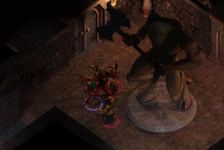 게임 중 바알의 신성이 각성하며 주인공은 죽은 살육 신 화신 슬레이어로 변하는 힘을 얻는다 (사진출처: 발더스 게이트 위키)