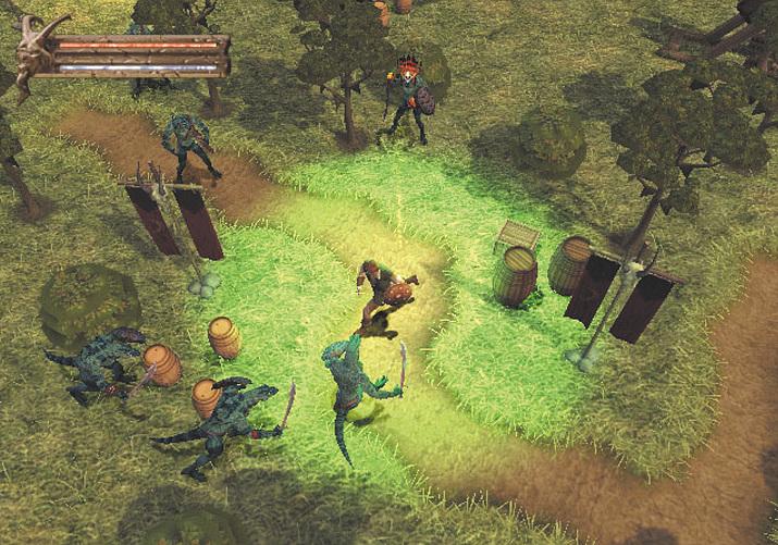 기존 시리즈와 전혀 접점이 없던 발더스 게이트: 다크 얼라이언스 (사진출처:Retro Gamer)