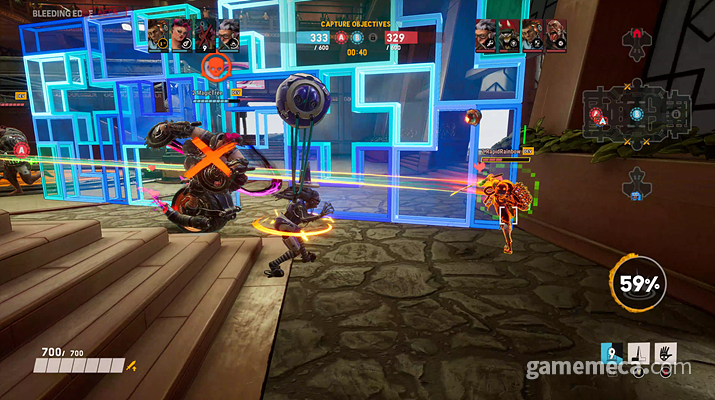 블리딩 엣지 플레이 화면 (사진: 게임메카 촬영)
