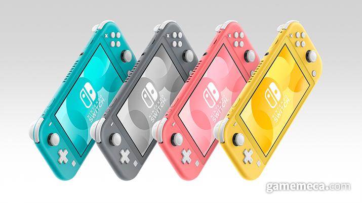 닌텐도 스위치 라이트 4가지 색상 (사진제공: 한국닌텐도)