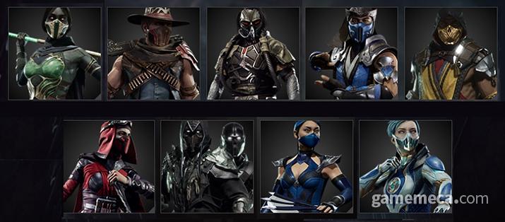 게임 전체적으로 마스크 착용률이 꽤나 높으니 전염병 걱정은 안 해도 될 듯 (사진출처: 모탈 컴뱃 11 공식 홈페이지)