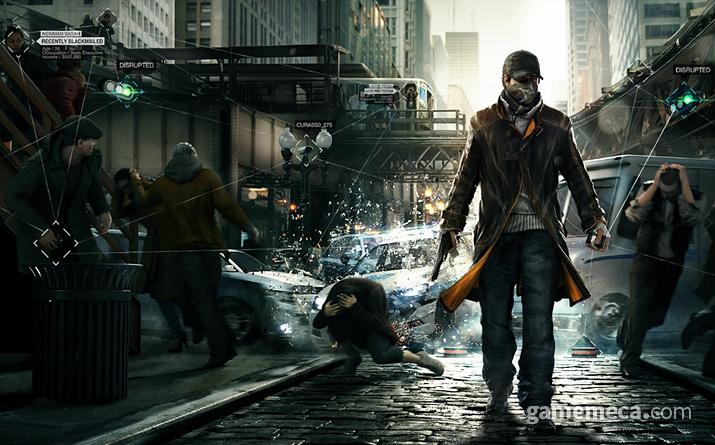 해커도 전염병에 걸리면 못 합니다 (사진출처: 와치 독스 공식 홈페이지)