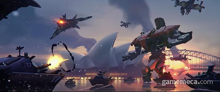 인공지능 로봇 옴닉들이 일으킨 반란 '옴닉 사태' (사진출처: Overwatch Wiki)
