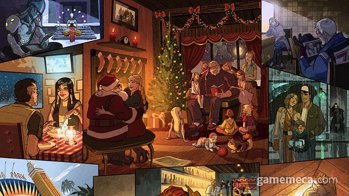 게임 내에서는 볼 수 없던 캐릭터들의 일면을 다뤄 좋은 반응을 얻은 코믹스 '반영' (사진출처: 오버워치 공식 사이트)