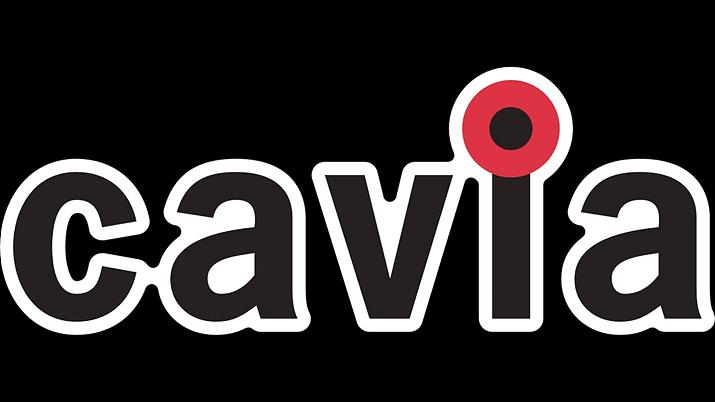 이제는 사라지고 없는, 캐비어 스튜디오 로고 (사진출처: 위키피디아)