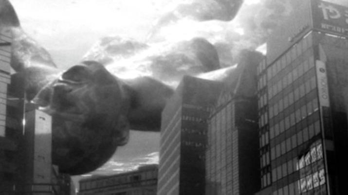 드래그 온 드라군 주인공이 쓰러뜨린 모체 영향으로 미드가르드 대신 파멸하게 된 지구 (사진출처: 드라켄가드 위키)