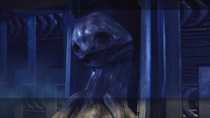 게임 내에 등장하는 외계인의 유해 (사진출처: 니어: 오토마타 위키)