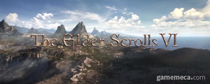 출시와 동시에 Xbox 게임패스에서 즐길 수 있게 된 엘더스크롤 6 (사진출처: E3 2018 트레일러 갈무리)